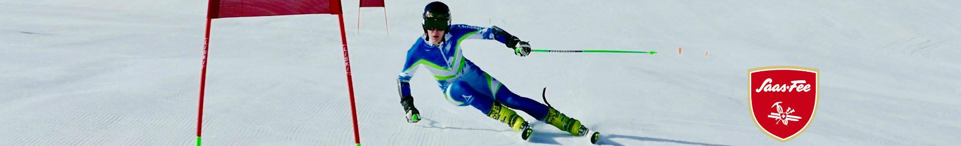 saas-fee summer giant slalom training