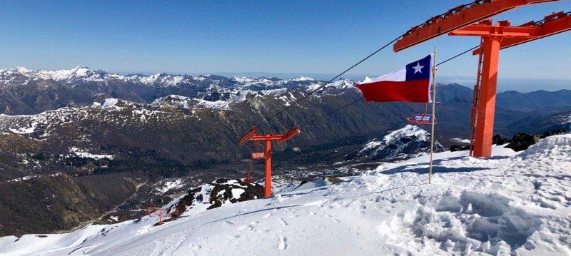 stages internationaux ski compétition Chili