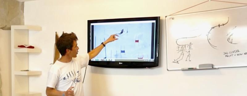 Activités développement athlètes analyse vidéo