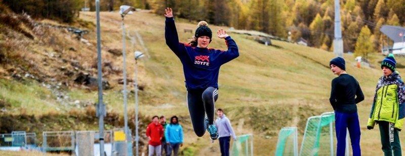 Activités développement athlètes éducation physique