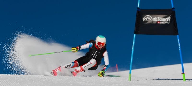 entraînement privé ski compétition Grimentz Zinal